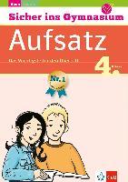 Cover-Bild zu Sicher ins Gymnasium Deutsch Aufsatz 4. Klasse