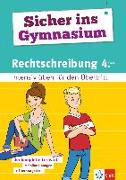 Cover-Bild zu Sicher ins Gymnasium Rechtschreibung 4. Klasse