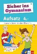Cover-Bild zu Sicher ins Gymnasium Aufsatz 4. Klasse