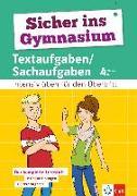 Cover-Bild zu Sicher ins Gymnasium Textaufgaben/Sachaufgaben 4. Klasse