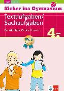 Cover-Bild zu Klett Sicher ins Gymnasium Textaufgaben / Sachaufgaben 4. Klasse (eBook) von Heuchert, Detlev