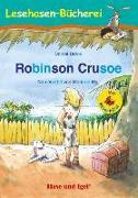Cover-Bild zu Robinson Crusoe / Silbenhilfe von Defoe, Daniel