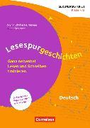 Cover-Bild zu Lesespurgeschichten für die Sekundarstufe I - Deutsch. Klasse 7/8 - Ganz nebenbei Lesen und Schreiben trainieren von Schubert, Ludger