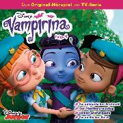 Cover-Bild zu Disney/ Vampirina - Folge 4: Ein unheimliches Festmahl/ Der Pfadfinderausflug/ Endlich entrümpeln!/ Ein niedliches Biest (Audio Download) von Stark, Conny