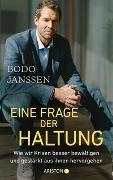 Cover-Bild zu Janssen, Bodo: Eine Frage der Haltung