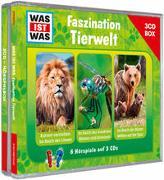 Cover-Bild zu Baur, Dr. Manfred: WAS IST WAS 3-CD-Hörspielbox Faszination Tierwelt