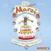 Cover-Bild zu Girod, Anke: Das Marzi rettet die Tortentiere