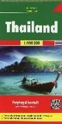 Cover-Bild zu Freytag-Berndt und Artaria KG (Hrsg.): Thailand, Autokarte 1:900.000. 1:900'000