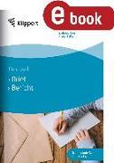 Cover-Bild zu Brief - Bericht (eBook) von Boes, Waltraud