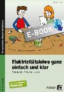 Cover-Bild zu Elektrizitätslehre ganz einfach und klar (eBook) von Griese, Andreas