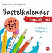 Cover-Bild zu Heye (Hrsg.): Bastelkalender immerwährend weiß groß