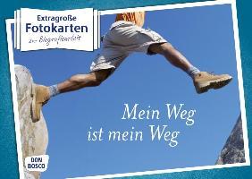 Cover-Bild zu Extragroße Fotokarten zur Biografiearbeit: Mein Weg ist mein Weg von Klingenberger, Hubert