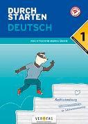 Cover-Bild zu Durchstarten Deutsch 1. Klasse Mittelschule/AHS Rechtschreibung üben von Blieberger, Gernot