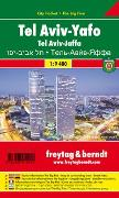 Cover-Bild zu Tel Aviv-Yafo, Stadtplan 1:9.400, City Pocket + The Big Five. 1:9'400