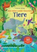 Cover-Bild zu Mein Immer-wieder-Stickerbuch: Tiere