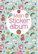 Cover-Bild zu Mein Stickeralbum - Regenbogen