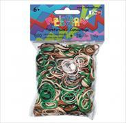 Cover-Bild zu Rainbow Loom Gummibänder Tarnfarben Opaque