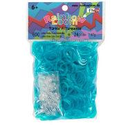 Cover-Bild zu Rainbow Loom Gummibänder Türkis / Turquoise