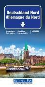 Cover-Bild zu Deutschland Nord Strassenkarte. 1:500'000