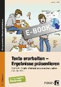 Cover-Bild zu Texte erarbeiten - Ergebnisse präsentieren (eBook) von Lindstädt, Dorota
