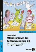 Cover-Bild zu Lernkartei: Minusrechnen im Zahlenraum bis 20 von Willwersch, Sabrina