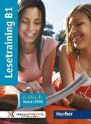 Cover-Bild zu Lesetraining B1. Zertifikat B1 - Modul Lesen / Übungsbuch von Bovermann, Monika