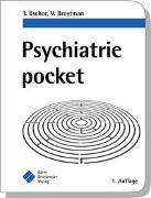 Cover-Bild zu Psychiatrie pocket von Bschor, Tom