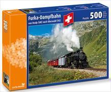 Cover-Bild zu Furka-Dampfbahn