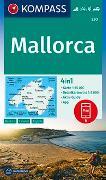 Cover-Bild zu KOMPASS Wanderkarte Mallorca. 1:75'000