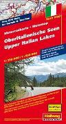 Cover-Bild zu Oberitalienische Seen MotoMap Motorradkarte 1:250 000 / 1:650 000. 1:275'000