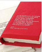 Cover-Bild zu Umlibris Grösse M. 'Fried, Erich: Was es ist'. rot