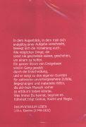 Cover-Bild zu Umlibris Grösse M. 'Goehte, J.W.: Das Mysterium Leben'. rot