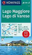Cover-Bild zu KOMPASS Wanderkarte Lago Maggiore, Lago di Varese. 1:50'000
