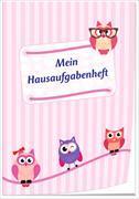 Cover-Bild zu Mein Hausaufgabenheft (Mädchen)