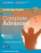 Cover-Bild zu Complete Advanced. Second Editon. Workbook with answers