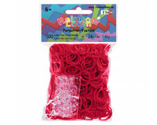 Cover-Bild zu Rainbow Loom Gummibänder Purpur Opaque