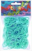 Cover-Bild zu Rainbow Loom Gummibänder Blaugrün Opaque