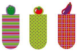 Cover-Bild zu Magnetlesezeichen Gemüse