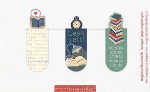 Cover-Bild zu Magnetlesezeichen Lesezeit