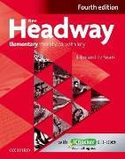 Cover-Bild zu New Headway: Elementary A1 - A2: Workbook + iChecker with Key