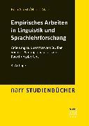 Cover-Bild zu Empirisches Arbeiten in Linguistik und Sprachlehrforschung (eBook) von Marx, Nicole