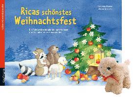 Cover-Bild zu Ricas schönstes Weihnachtsfest. Ausgabe mit einem Stoffschaf von Ignjatovic, Johanna