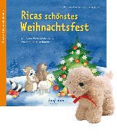 Cover-Bild zu Ricas schönstes Weihnachtsfest mit Stoffschaf von Mauder, Katharina