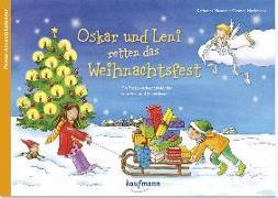 Cover-Bild zu Oskar und Leni retten das Weihnachtsfest von Mauder, Katharina