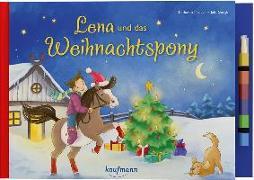 Cover-Bild zu Lena und das Weihnachtspony von Mauder, Katharina