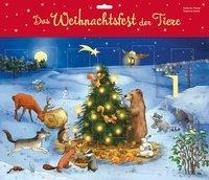 Cover-Bild zu Das Weihnachtsfest der Tiere von Mauder, Katharina