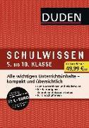 Cover-Bild zu Duden Schulwissen 5. bis 10. Klasse (6 Bände) von Bilsing, Annelore
