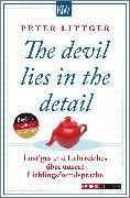 Cover-Bild zu The devil lies in the detail von Littger, Peter
