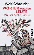Cover-Bild zu Wörter machen Leute von Schneider, Wolf