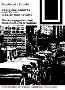 Cover-Bild zu eBook Großstadt-Politik